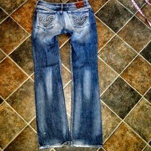 Big Star Jeans Size 30XL Hazel Curvy Boot Cut